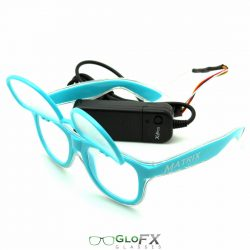 Customizable TRACERS Luminescence Diffraction Glasses