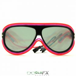 Customizable MultiColor Luminescence Diffraction Glasses