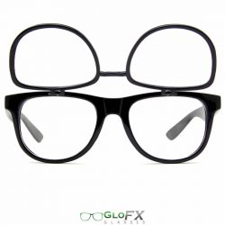 GloFX Flip Clear + Diffraction - Black