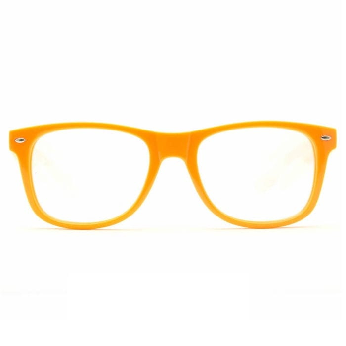 GloFX Ultimate Diffraction Glasses - Orange