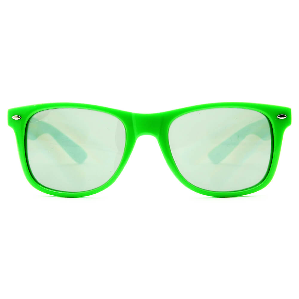 GloFX Ultimate Diffraction Glasses – Green Tinted
