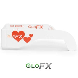 GloFX Paper Heart Diffraction Glasses Gallery 1