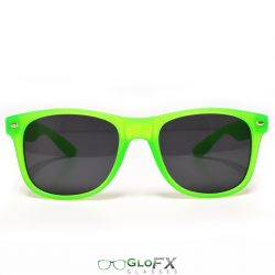 GloFX Regular Sunglasses - Glow Green