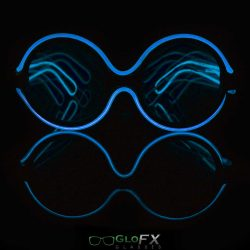 Round Retro Diffraction Glasses