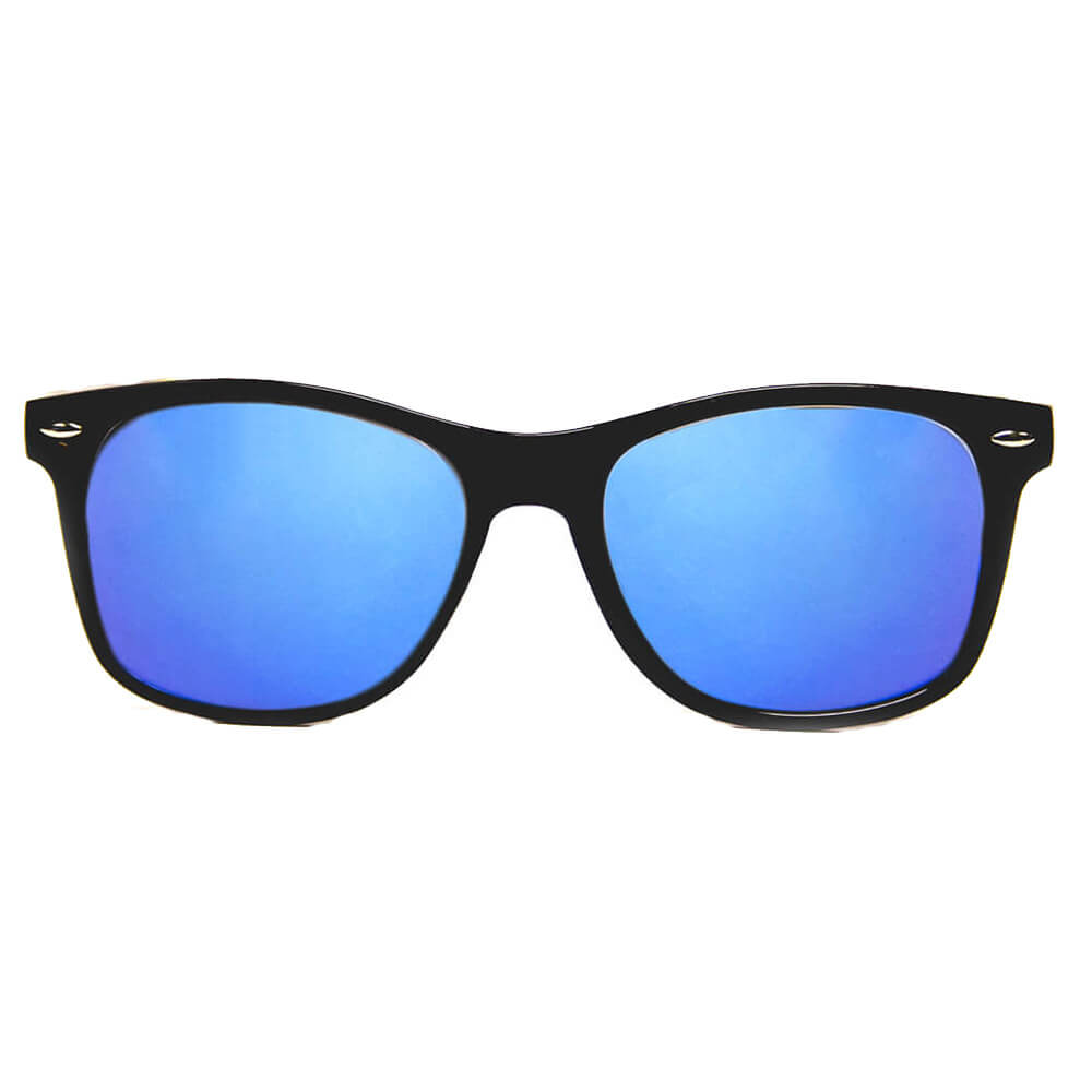 GloFX Black Ultimate Diffraction Glasses Blue Mirror Featured Image