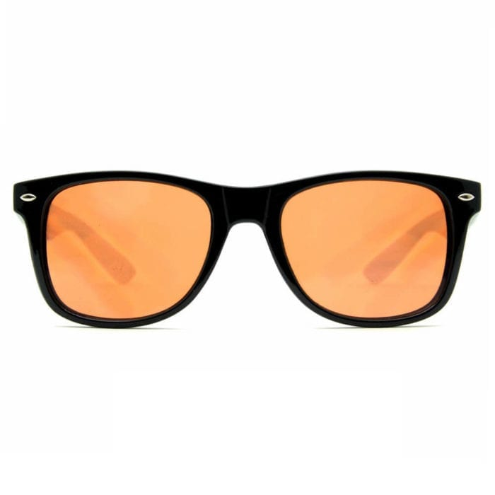 GloFX Ultimate Diffraction Glasses – Black Auburn Enhanced