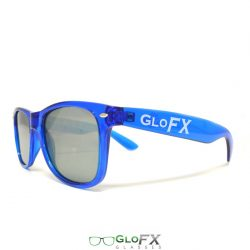 GloFX Ultimate Diffraction Glasses – Transparent Blue Tinted
