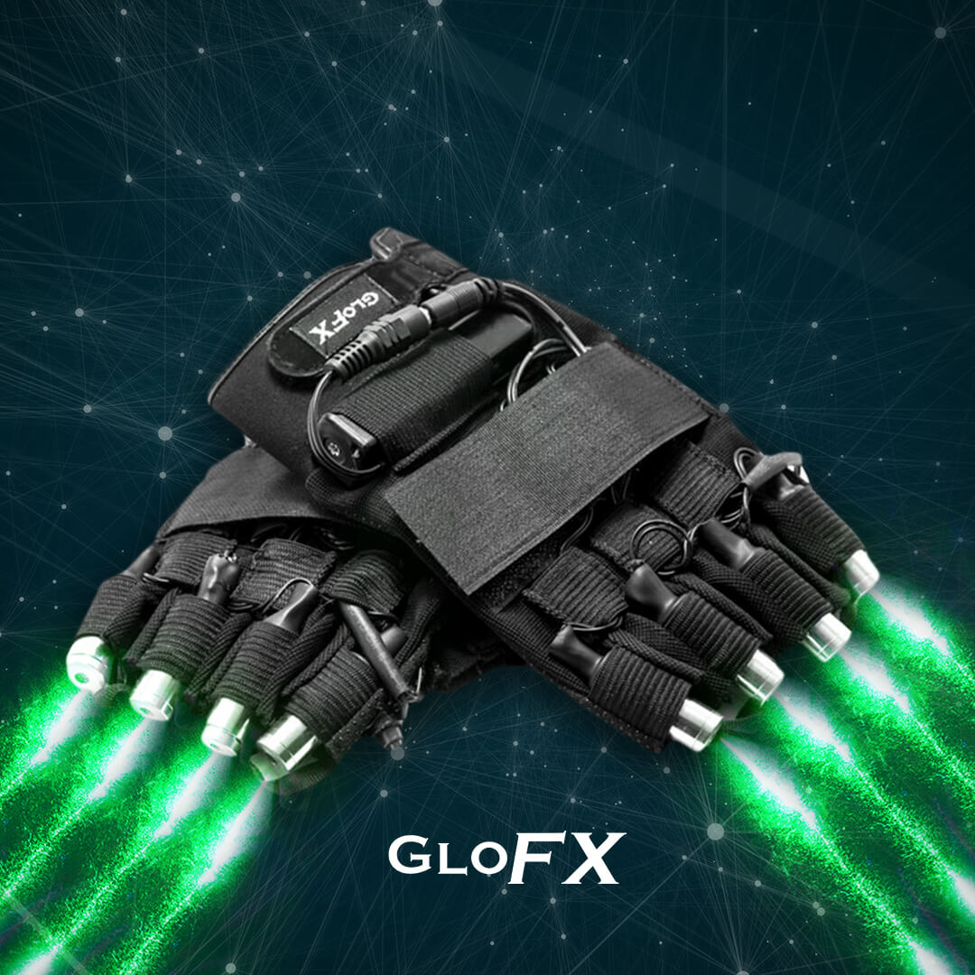 GloFX LZR Laser Gloves