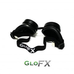 GloFX Black Diffraction Goggles 3