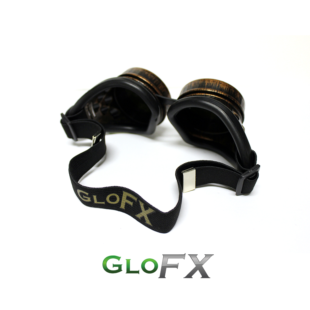 GloFX Copper Kaleidoscope Goggles 3