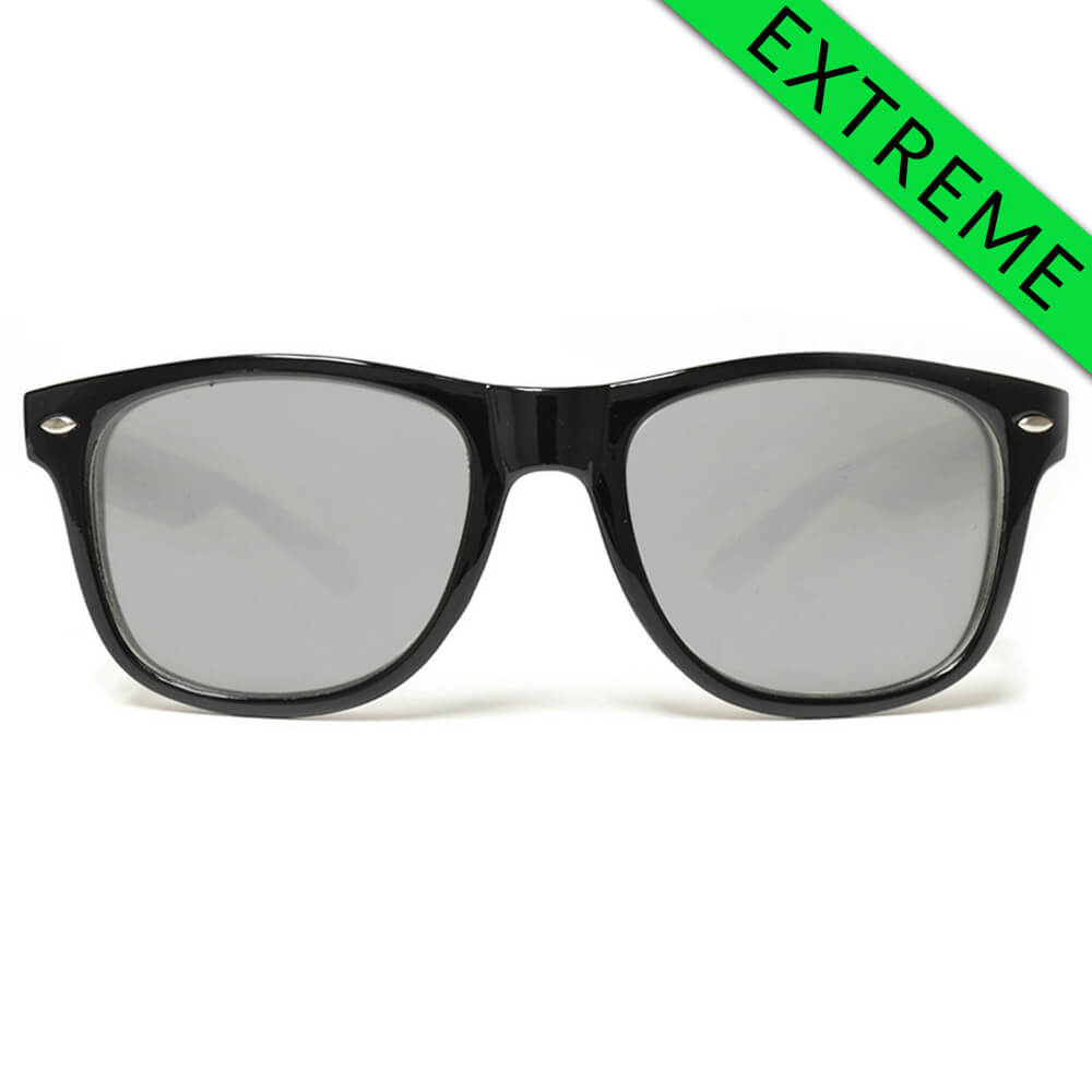 GloFX Ultimate EXTREME Diffraction Glasses – Black Tinted