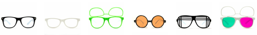GloFX Diffraction Glasses Selection