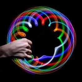 Basic 6-LED Rave Orbit Rainbow - Featured Image
