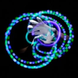 GloFX Premier LED Glove Set Spearmint - Gallery 2