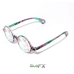 GloFX Aztec-Kaleidoscope Glasses-Clear4