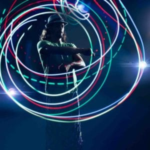 9-Mode LED Poi Balls - GloFX