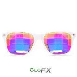 GloFX_Bug_Eye_Kaleidoscope_Glasses_White_1