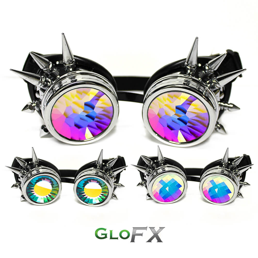 glofx_chrome_spike_kaleidoscope_goggles_with_rubber_pads