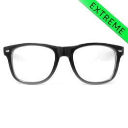 GloFX Ultimate EXTREME Diffraction Glasses - Black