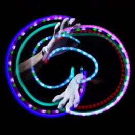 10-Light Premier LED Glove Set Assorted Colors - Featured Image