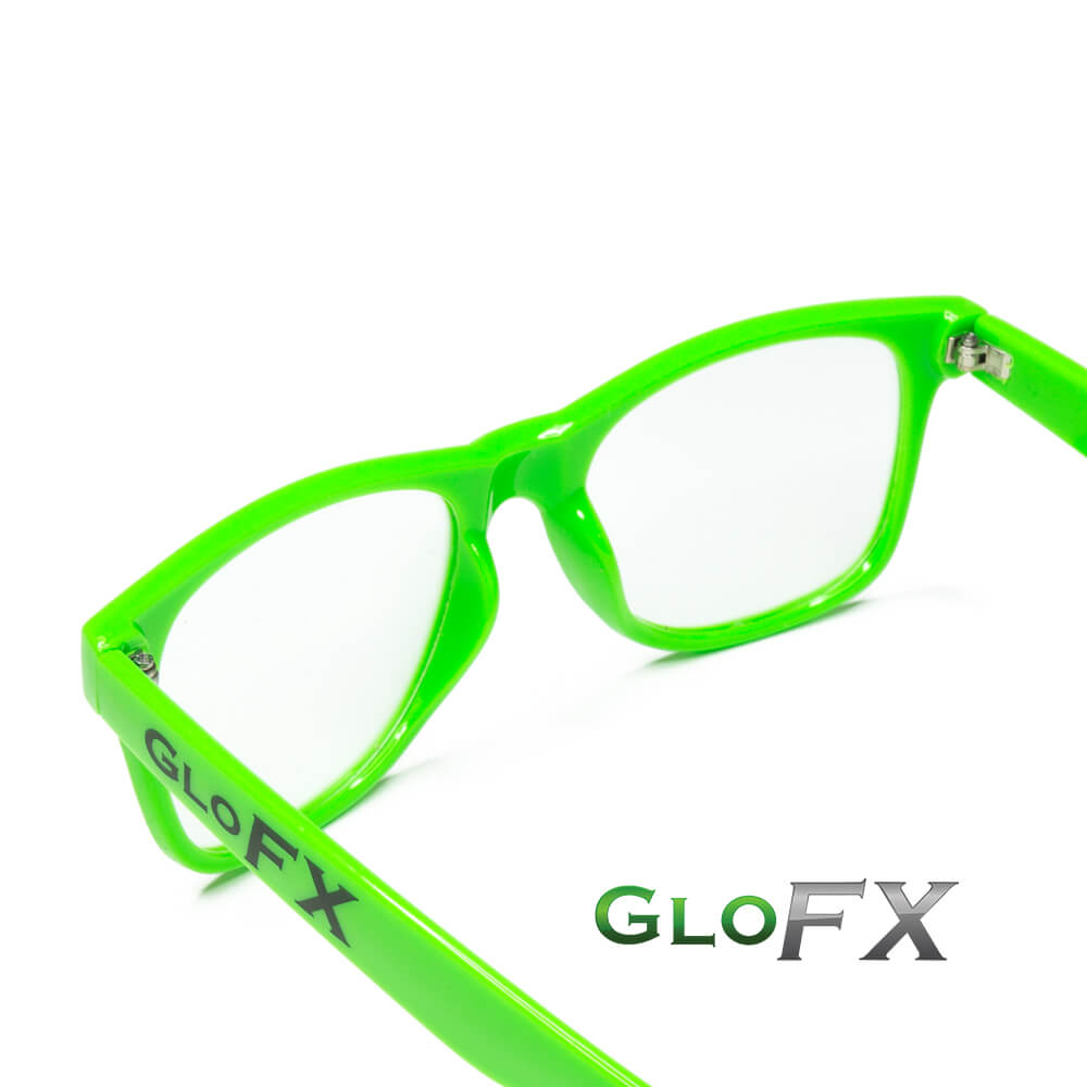 Ultimate Diffraction Glasses Green Gallery 4