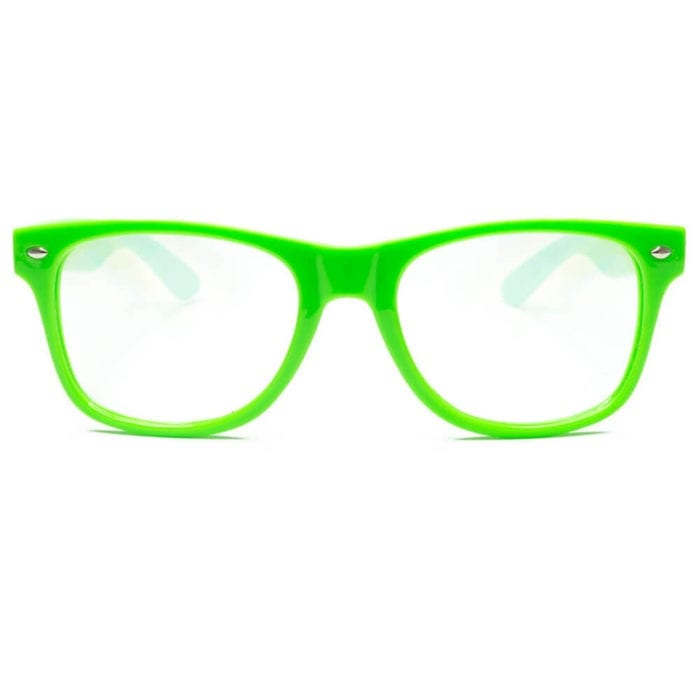 GloFX Ultimate Diffraction Rave Glasses - Green