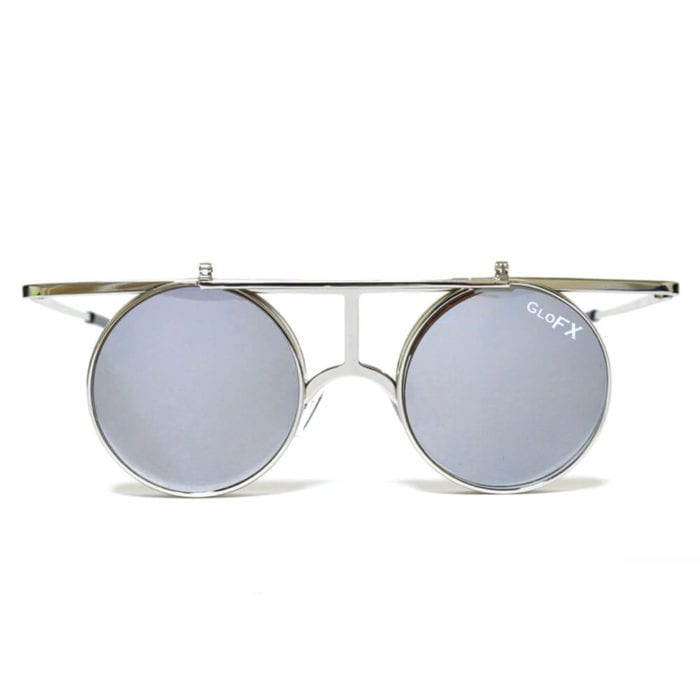 GloFX Flip Diffraction Glasses - Vintage Round