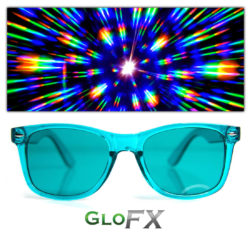 GloFX_Baker Aqua Color Infused Glasses