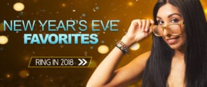 End of December NYE Favorites Homepage Banner