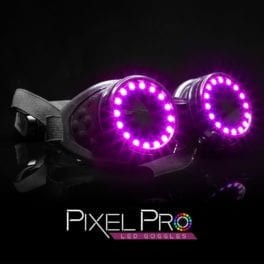 GloFX Pixel Pro LED Goggles Featured Image