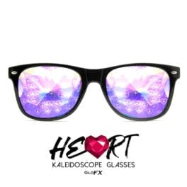 Heart Effect Kaleidoscope Glasses