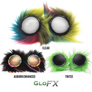 GloFX Party Animal Diffraction Goggles Featured
