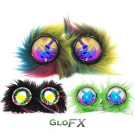 GloFX Party Animal Kaleidoscope Goggles