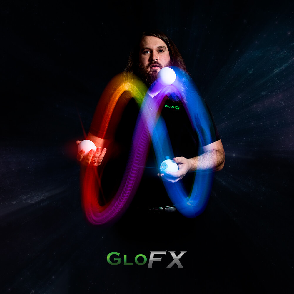 GloFX Programmable LED Juggling Balls