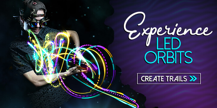 Experience LED Orbits - Create Trails