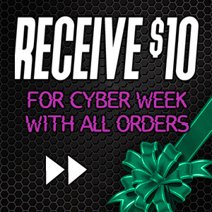 $10 Cyber Week Coupon - Shop Now