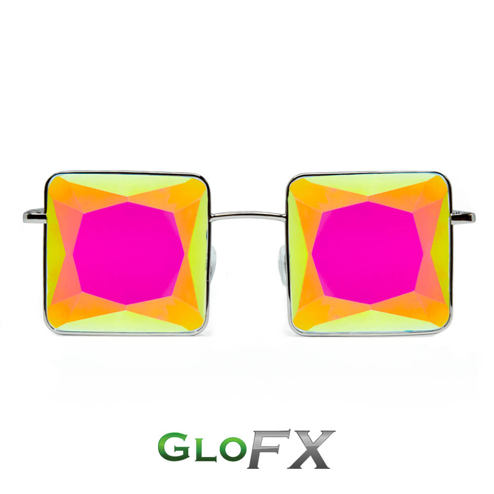 GloFX MC Squared Kaleidoscope Glasses Featured Image
