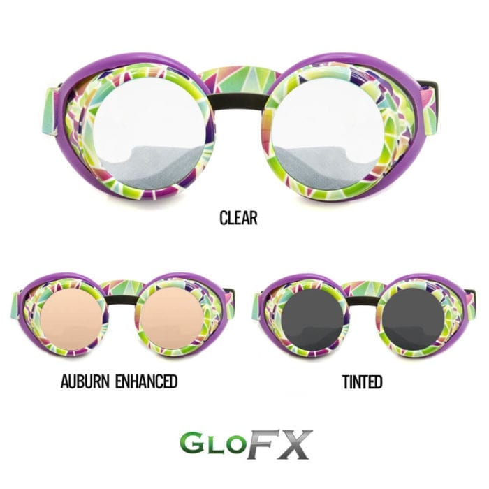 GloFX Geo Trip-Diffraction Goggles Featured Image