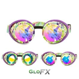GloFX Geo Trip Kaleidoscope Goggles Featured Image