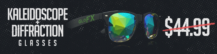 Kaleidoscope+Diffraction Glasses Flash Deal