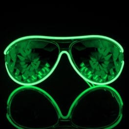 GloFX-Customizable-Aviator-Kaleidoscope-Luminescence-Glasses-Black-Box-Green