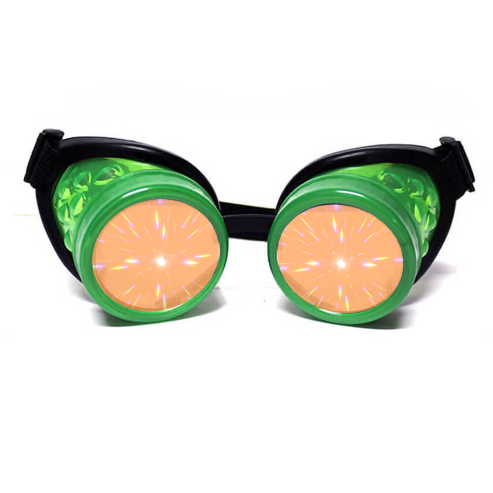 Glow Green Diffraction Glasses (1)