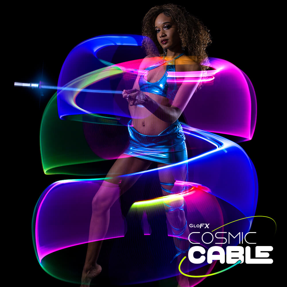 GloFX Cosmic Cable – Single Fiber Space Whip Featured Image